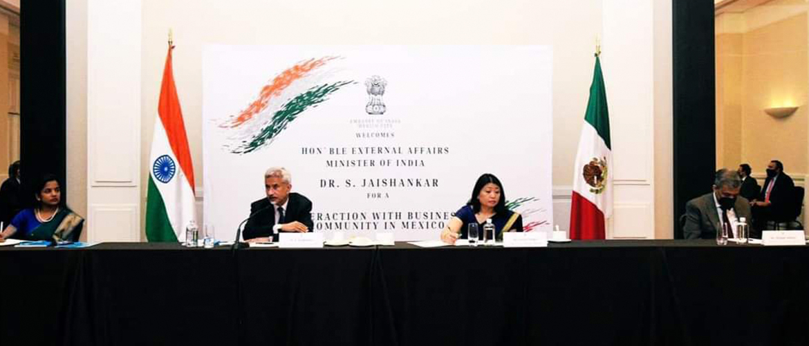 Interaction of EAM with business community in Mexico